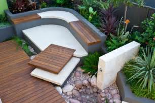 Cinder Block Furniture Backyard Moderne Gartengestaltung 2015 5 Aktuelle Trends Im Garten