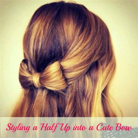 hairstyles how to do a bow hair bow tutorial half up quality hair accessories