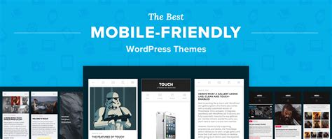 wordpress theme blog mobile top 6 best mobile wordpress themes for iphones ipads and