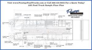 Food Truck Floor Plan by Custom Food Truck Floor Plan Samples Custom Food Truck