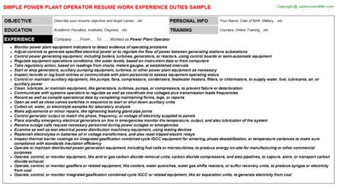 plant design engineer job description power resume sle resume ideas