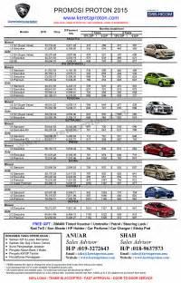 Promosi Proton Preve Monthly Payment Harga Kereta Malaysia