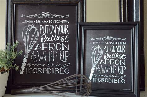 8 best images of printable chalkboard art free printable free kitchen art printable i heart nap time