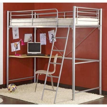 lit mezzanine noir avec bureau lit mezzanine avec bureau en dessous id 233 al pour chambre