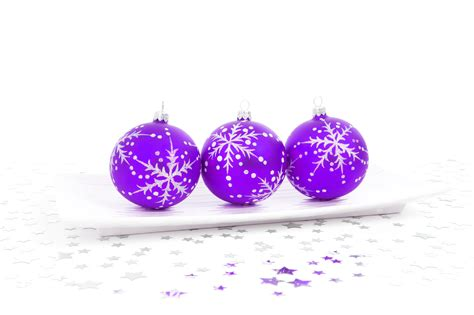 purple bauble decoration free stock photo public domain