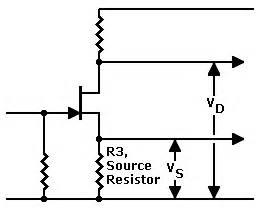common source lifier resistor values fet prelifier