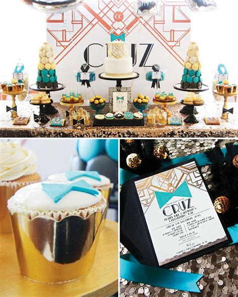 Great Gatsby Baby Shower - 7 brilliant baby shower themes for boys momooze