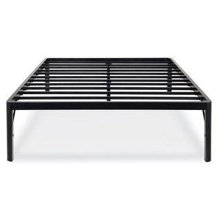 Metal Platform Bed Greenhome123 Heavy Duty 18 Inch High Rise Metal Platform Bed Frame Attaches To Most Headboards
