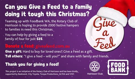 how to donate a christmas gift to a kid give a feed donate a her this foodbank western australia