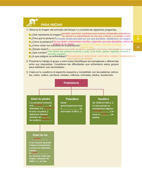 historia 5 ao pagina contestada 109 ayuda para tu tarea de sexto historia bloque l panorama