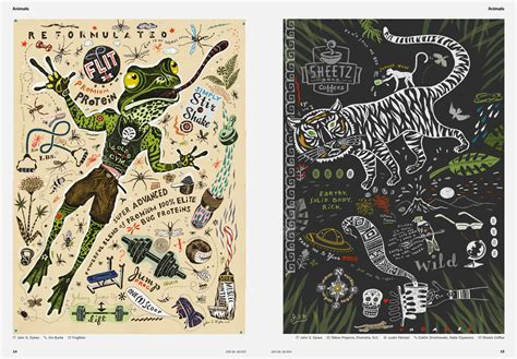 best illustrators l 252 rzer s archive brand new 200 best illustrators