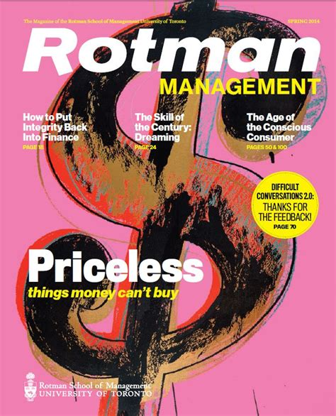 Rotman Mba Magazine by 17 Best Images About Rotman Management Magazine On