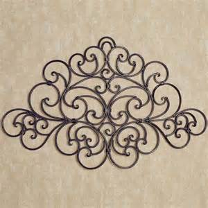 Iron Wall Decor by Camilio Scroll Wrought Iron Wall Grille