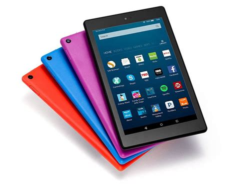 amazon tablet amazon fire hd 8 tablet gets alexa more storage and