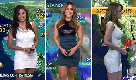 univision weather girls wardrobe malfunctions weather girls pictures to pin on pinterest pinsdaddy