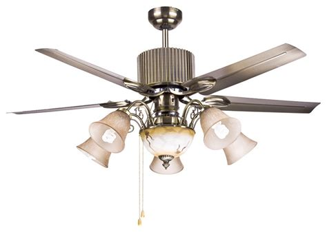 Large Ceiling Fans With Lights by Large Bronze 4 Blades Ceiling Fan Lights 50 Quot Modern