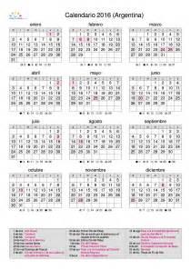 Calendario 2018 La Nacion Calendario Calendarios 2016 Para Argentina 3 Anuales
