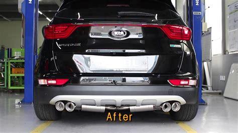 Kia Sportage Exhaust Kia Motor 2016 All New Sportage R Exhaust System