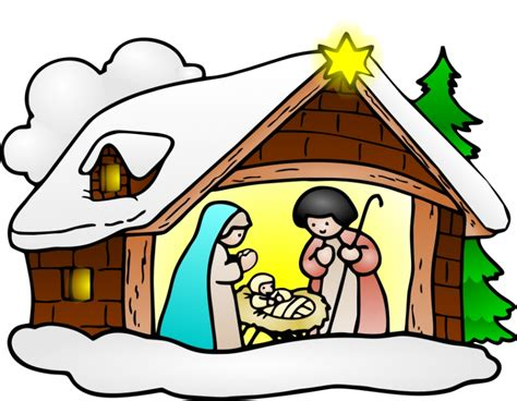 religious christmas pictures clip art