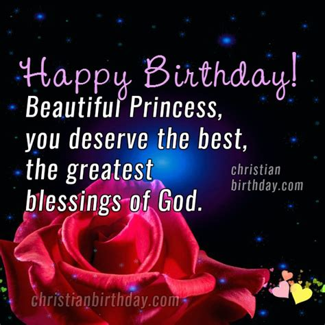 Happy Birthday Princess Quotes Christian Birthday Free Cards July 2016