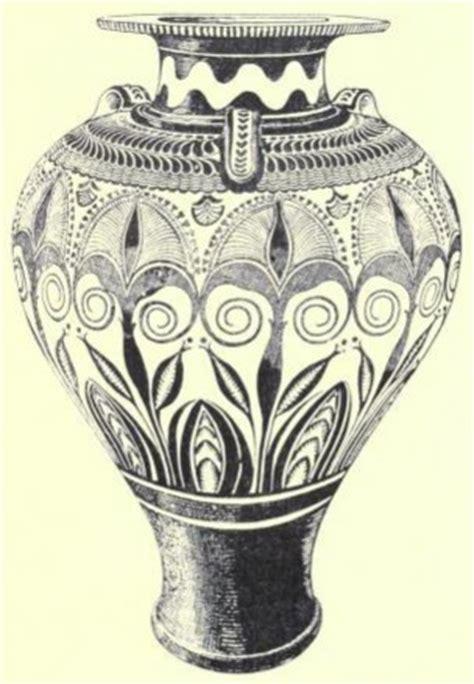 vaso cretese sacre sponde vaso in stile miceneo trovato a cnosso nella