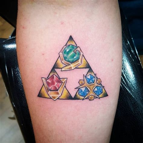 triforce tattoos 85 mighty triforce designs meaning discover