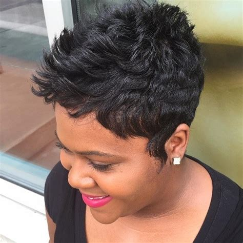 sharp looking short hair cut for black women 60 great short hairstyles for black women