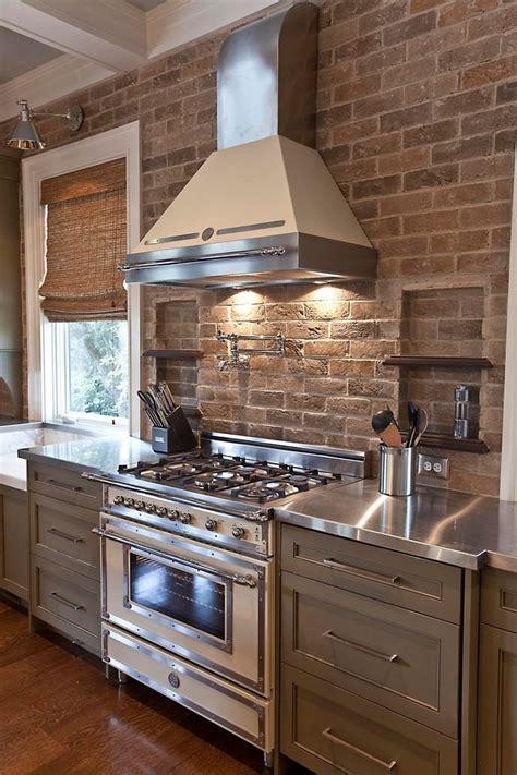 brick backsplash kitchen ideas fanabis robinson veneer brick backsplash kitchen farmhouse with
