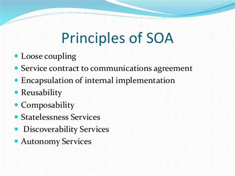 soa service contract template service oriented architecture soa