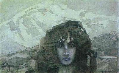 david x art: mikhail vrubel: the head of the demon