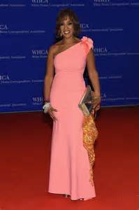 Gayle king attends the 102nd white house correspondents association