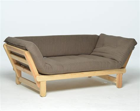 Single Pine Futon Sofa Bed With Mattress Futon Single Sofa Bed Catosfera Net