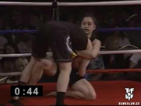 tuff n uff amateur fighting championships: cathy snell vs
