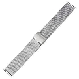Tali Kulit Jam Tangan Bamboo Grain Watchband Leather 1 jam tangan milanese stainless steel 20mm silver jakartanotebook