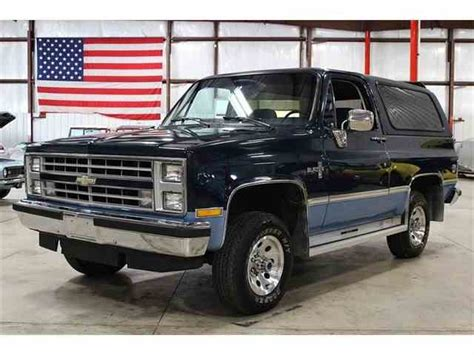 1987 chevrolet blazer classic chevrolet blazer for sale on classiccars 46
