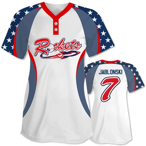 speacial price design your own baseball jerseys full unique patriotic softball jersey custom sublimated