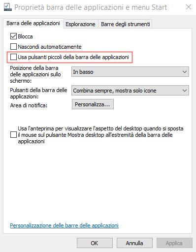 windows 10 online tutorial windows 10 pulsati piccoli nella barra delle applicazioni