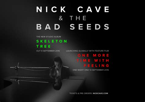 the bad seed book trailer one more time with feeling nick cave