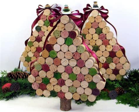 wine cork 17 marvelous diy mini christmas trees diy