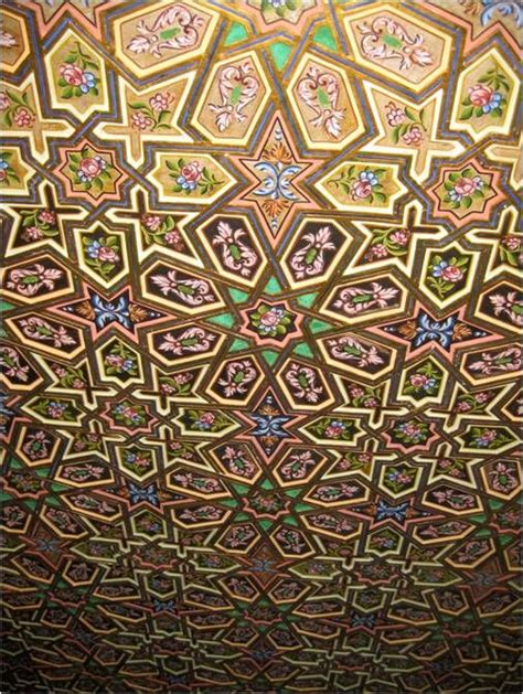 some beautiful ceiling tiles that are inspired by middle eastern patterns islamic