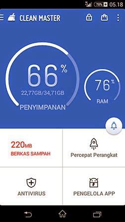 clean master apk terbaru clean master v5 9 6 apk version aplikasi