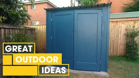 build   shed outdoor great home ideas