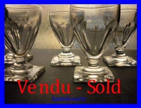 bicchieri baccarat prezzi 5 bicchieri in cristallo baccarat 1850
