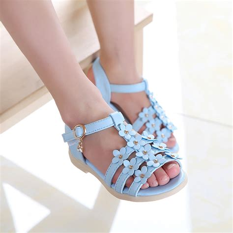 beautiful summer sandals 2016 summer style children sandals princess