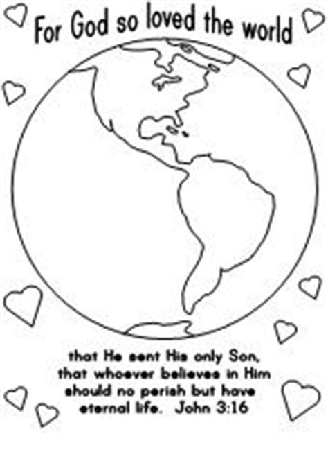 coloring page for god so loved the world fun learning printables for kids
