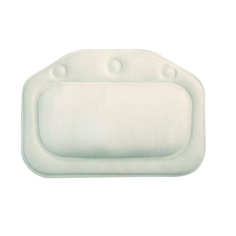 croydex bath pillow in white bg207022yw the home depot