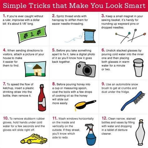 Simple Tricks To Make Your - 30 simple tricks that make you look smart inspirational