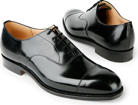 church shoes church s consul g oxford shoes in black for lyst