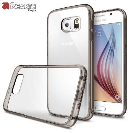 Rearth Ringke Fusion Casing For Samsung Galaxy Samsung Galaxy S6 Edg rearth ringke fusion samsung galaxy s6 smoke black mobilefun