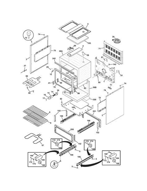 frigidaire oven parts diagram frigidaire cfef358eb2 electric range timer stove clocks